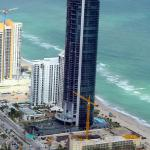 Porsche Building Sunny Isles Beach, Fl They bring your car up to your floor!